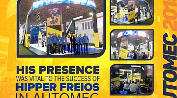 Hipper Freios present in Automec 2015