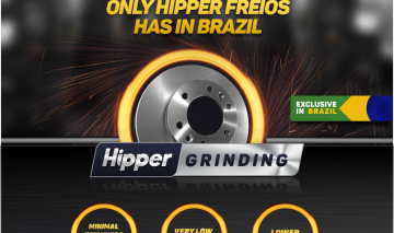 Hipper Freios throws exclusive technology in Brazil for brake discs Singles in Brazil